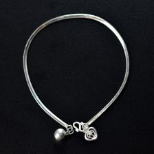 Fine 925 silver Bracelet ( B 2MMCLING )