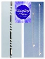 Fine 925 silver Anklet & Bracelet