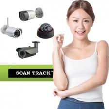 Scantrack-850TVL High Resolution IR Dome
