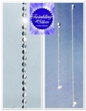 Fine 925 silver 2mm Anklet & Bracelet