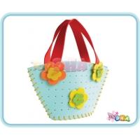 DIY EVA Form Handicraft - Trapezium Handbag (Pack of 2)