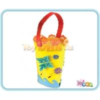 DIY EVA Form Handicraft - Flower Basket (Pack of 3)