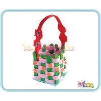 DIY EVA Form Handicraft - Felt Sewing Basket (Pack of 3)