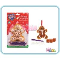 Art & Craft - PlushCraft Christmas Ornament - Gingerbread Man