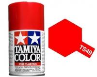 Tamiya Bright Red Paint Spray TS-49