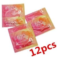 520 Super Thin Condom (12 pcs) - Expire 2019