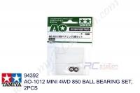 Tamiya  AO-1012 MINI 4WD 850 BALL BEARING SET, 2PCS #94392