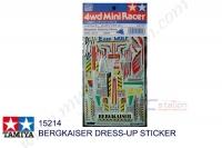 Tamiya  BERGKAISER DRESS-UP STICKER #15214