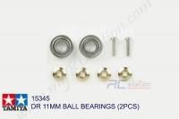 Tamiya  DR 11MM BALL BEARINGS (2PCS)  #15345