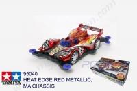 Tamiya  HEAT EDGE RED METALLIC, MA CHASSIS #95040