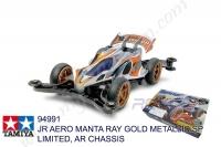 Tamiya  JR AERO MANTA RAY GOLD METALLIC SP LIMITED, AR CHASSIS #94991