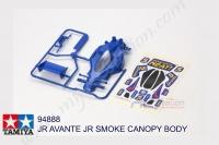 Tamiya  JR AVANTE JR SMOKE CANOPY BODY #94888