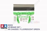 Tamiya  JR BRAKE SET - AR CHASSIS / FLUORESCENT GREEN #95053
