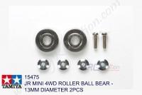Tamiya  JR MINI 4WD ROLLER BALL BEAR - 13MM DIAMETER 2PCS #15475