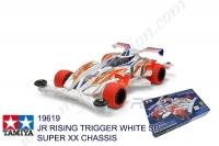 Tamiya  JR RISING TRIGGER WHITE SP, SUPER XX CHASSIS #19619