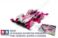Tamiya  JR SHINING SCORPION PREMIUM PINK VERSION, SUPER-II CHASSIS #95035