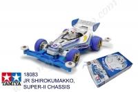 Tamiya  JR SHIROKUMAKKO, SUPER II CHASSIS #18083