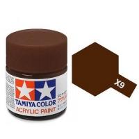 Tamiya Color Acrylic Paint X-09 (Brown) (23ml)