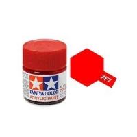 Tamiya Color Acrylic Paint XF-07 (Flat Red) (23ml)