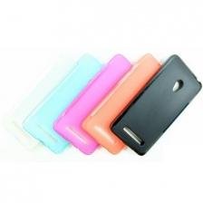 Asus Zenfone 4 4.5 5 6 Semi Transparent TPU Pudding Back Case Cover