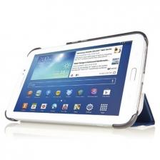 Samsung Galaxy TabPro Tab 3 Pro 8.4 T320 Slim Fit PU Leather Case ( Black)