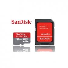 Sandisk 32GB Mobile Ultra MicroSD Class 10 Micro SD 32 GB C10