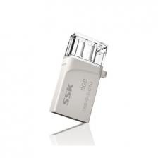 SSK Dual USB Micro Flash Drive OTG 16GB 32GB Memory