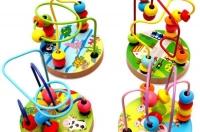 Mini circle bead maze