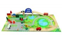 Rail Overpass Wooden Toy Set (40 pcs)