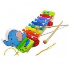 Pull Along Elephant Xylophone