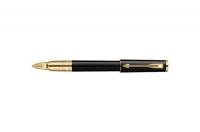Parker Ingenuity Small Black Gold Trim Medium Point 5th Mode Pen