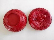 北京雕漆盒(柿子)Beijing Lacquerware Jewellery Box (Persimmon)