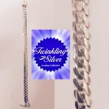 Fine 925 Silver Gent Bracelet ( B300TPOKTKOH )
