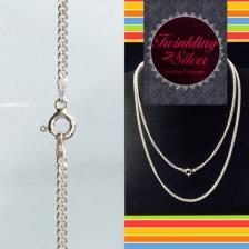 Fine 925 Silver Italy Chain ( IC 060CURT65 )