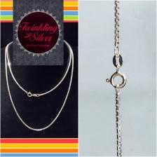 Fine 925 Silver Italy Chain ( IC 035BOX65 )