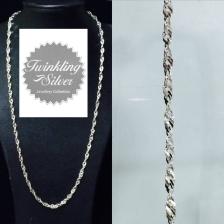 Fine 925 silver Chain ( C 055SPOH45 )