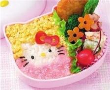 Hello Kitty Sushi Rice Egg Mold Bento