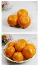 Artificial Fruits Mandarin Orange (Set of 3) Decoration Gift Chinese New Year