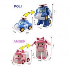 1 set of ROBOCAR POLI (1 set 4 units)