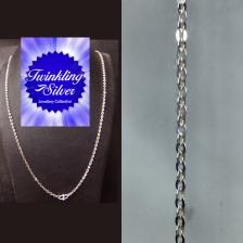 Fine 925 silver Chain ( C 2MMPOLO45 )