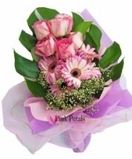 HB036 Roses & Gerberas (Flower Bouquet)