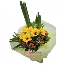 HB037 Gerberas (Flower Bouquet)