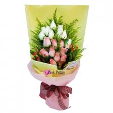 HB046 Roses (Flower Bouquet)