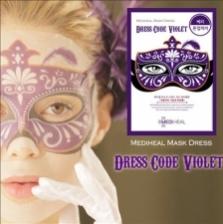 [MEDIHEAL] Dress Code Violet Mask Super Wrinkle Care 1Box (10pcs)