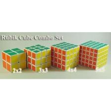 (Combo Set) Professional Rubik Cube Puzzle - 2x2, 3x3, 4x4, 5x5