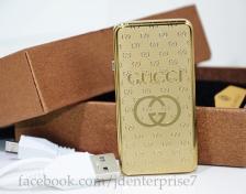 Gold FLAMINGO USB lighter
