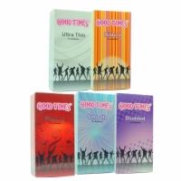 5 in 1 Good Times Condom / Kondom Combo Pack 60 pcs