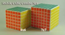 (Combo Set) Professional Rubik Cube Puzzle - 6x6, 7x7
