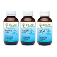 BIO-LIFE FISH OIL 1000MG 100'SX3 (PROTECT HEART)
