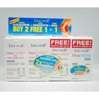 Live Well Ostesamin Plus Chondroitin 3 X 30S